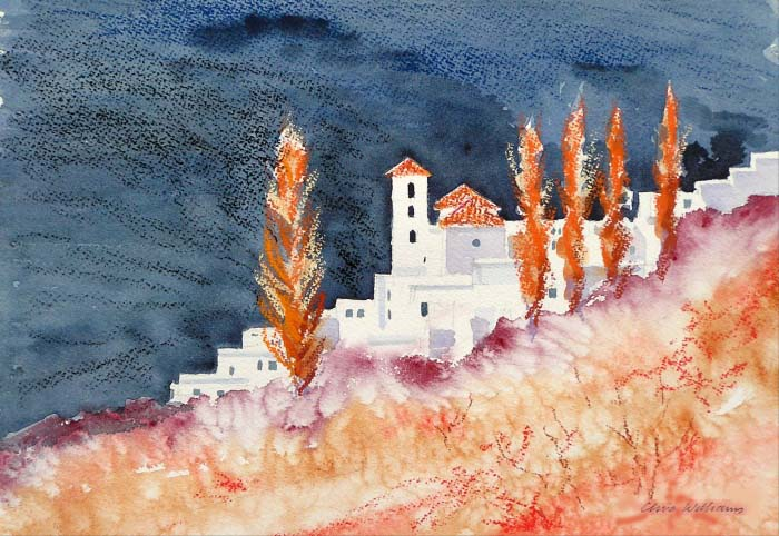 Clive Williams artist Andalucia 2